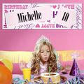 Personalised Female Birthday Age Banner